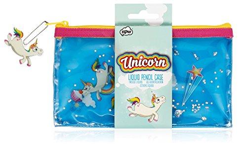 NPW Unicornio, Estuche para lápices, Liquid Pencil Case, 36