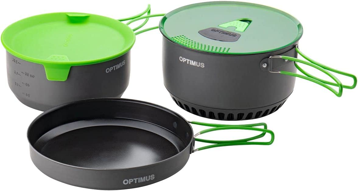 OPTIMUS Terra Camp 4 Saucepan Set