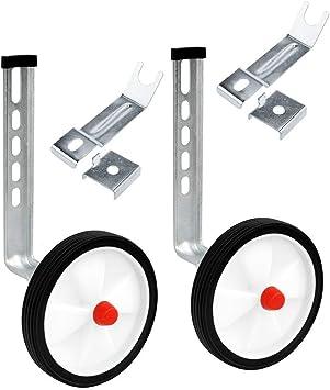 "Bicycle Training Wheels Stabiliser Kit for Kids Children 12-20\/"" Universal Bike"