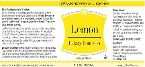 LorAnn Lemon Bakery Emulsion 1 Gallon by LorAnn (Image #1)