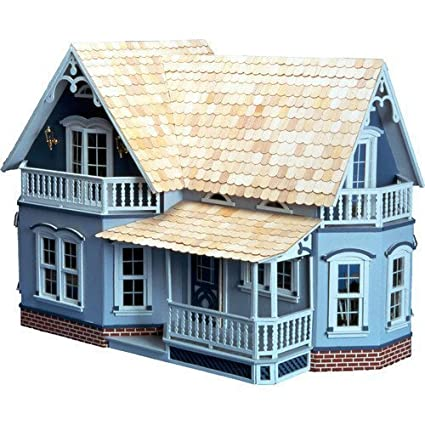 Amazon Com Greenleaf Dollhouses Magnolia Dollhous Wood Living