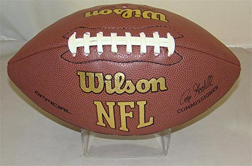Brand New ACRYLIC PLASTIC MOLDED FOOTBALL - Molded Case Nfl
