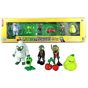 Plants Vs. Zombies Video Game Series 2 Inch Tall Figures ...