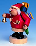 KWO Chubby Santa German Christmas Incense Smoker Handcrafted in Germany New