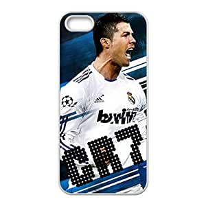 Custom CR7Football Player Cristiano Ronald Case Cover for iPhone 5and iphone 5s