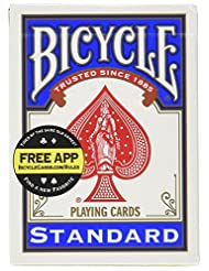 Bicycle Standard Index Playing Cards 1 Deck, Colors may Vary ...
