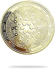 Cardano ADA   Secure Layered Smart Contracts   Cryptocurrency Virtual Currency   Gold Plated Challenge Art Coi