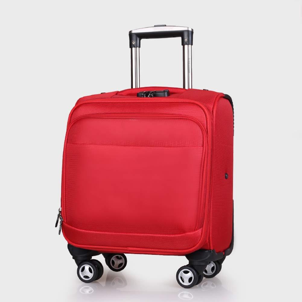 ラップトップコンパートメントを備えたビジネストロリーケース、超軽量エキスパンドトラベルキャビンには手荷物スーツケースが4つあり、ほとんどの航空会社でキャビンサイズが承認されています。 B07KR6TX4J Red H:37cm x W:38cm x D:22cm(16in)