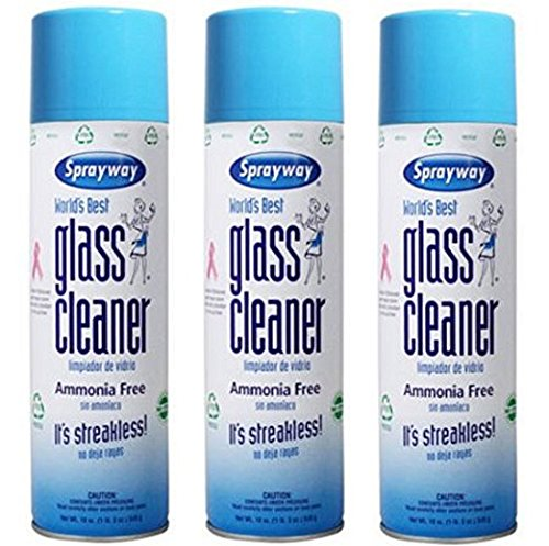 Sprayway Streakless Glass Cleaner 19 oz (3 Pack) Made in USA Brand New and Fast Shipping