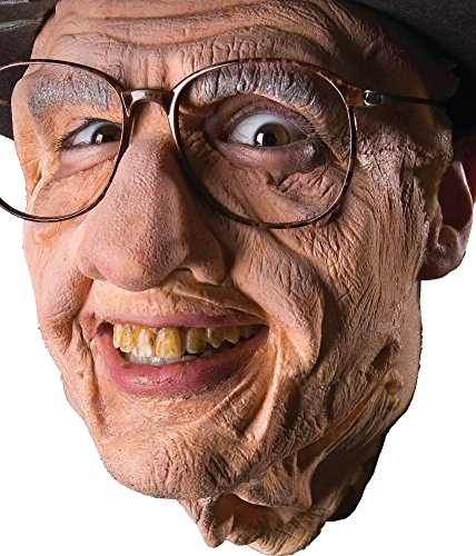 Gramps Old Man Face Latex Appliance Kit