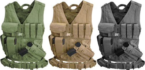 Condor Cross Draw Vest/Tactical Belt
