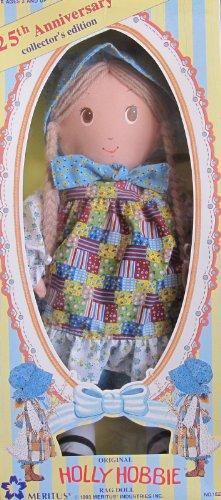 original-holly-hobbie-rag-doll-25th-anniversary-collector-edition-1993-meritus