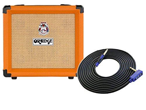 [定休日以外毎日出荷中] ORANGE(オレンジ) 12 ギターアンプ Crush 12 3m + 3m ギターケーブル B0793L18G6 VOX VGS-30 セット B0793L18G6, グラスマーブル:7a3df0da --- a0267596.xsph.ru