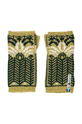(Öjbro Swedish made 100% Merino Wool Soft & Warm Wrist Warmers (as Featured by the Raynauds Assn) (Fager Inez))