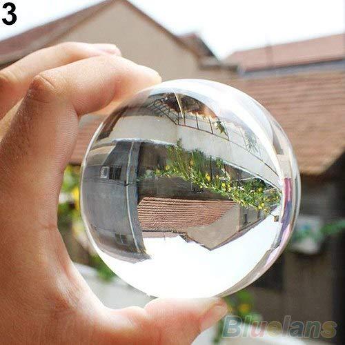 (Gemstone Healing - Top 60mm Rare Natural Quartz Crystal Sphere Clear Magic Ball Chakra Healing Gemstone - Wand Stone Gemstones Chakra Book Crystal Thermo Pendants Mats Natural Gemstone Nec)