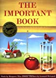 The Important Book, Margaret Wise Brown, 0060207205