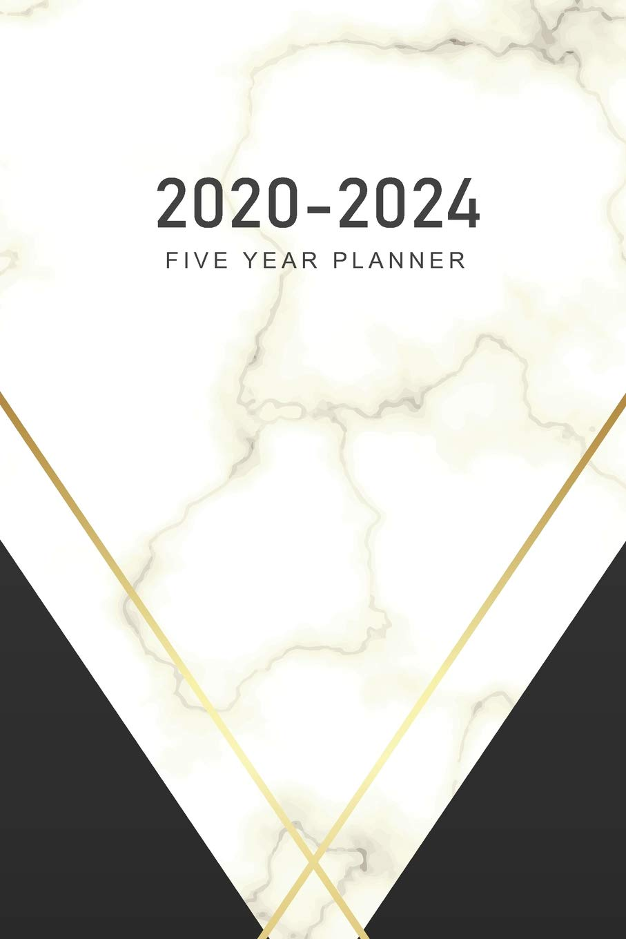 2020-2024 Five Year Planner: Marble Cover | 2020 - 2024 ...