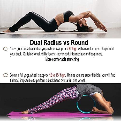 Amazon.com: Juego de 7 ruedas de yoga para estiramiento de ...