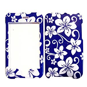 Hard Plastic Snap on Cover Fits Apple iPod Touch 2(2nd Generation) 3(3rd Generation) Blue Hawaii (Please carefully check your device model to order the correct version.)