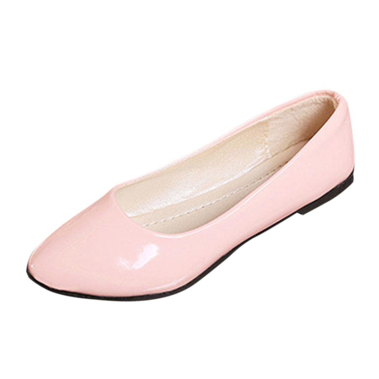 feiXIANG Women Ladies Colorful Freizeitschuhe sandalen Flat Shoes Schuhe Business elegante fuuml;r Damen38|Rosa