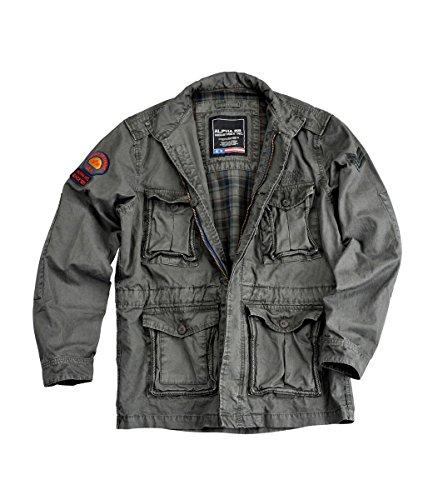 Alpha Industries Corps Veste mi-saison Grey / Blac