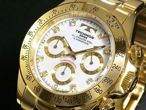 a391f96d2dc9 テクノス TECHNOS メンズ クロノ 腕時計 人気 ブランド 男性用 クロノグラフ 時計 おしゃれ かっこいい 男性 ウォッチ