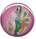 Disney Wizards of Waverly Place Selena Gomez Paisley Button B-DIS-0570