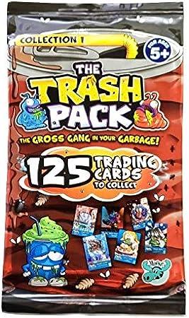 The Trash Pack (Serie 3, Colección 1) 9 Paquetes de Cartas de Comercio con Instrucciones de Juego: Amazon.es: Juguetes y juegos