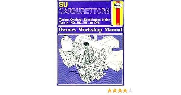 su carburettors owner s workshop manual don peers 9780856962998 rh amazon com Su Carburetor Repair Su Carburetor Adjustment