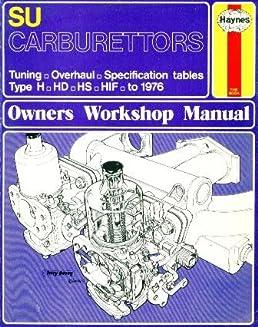 su carburettors owner s workshop manual don peers 9780856962998 rh amazon com Su Carburetor Repair Su Carburetor Parts