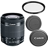 Canon EF-S 18-55mm f/3.5-5.6 IS STM Zoom Lens for Canon DSLR Cameras (Certified Refurbished)