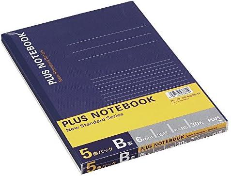 5 libros Pack no-003bs-5p 76 – 728 30 piezas (Semi-B5) B Plus de rayas no. 6 (Japón Importación): Amazon.es: Oficina y papelería