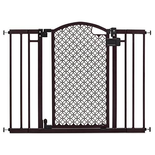 Summer Infant Modern Home Decorative Walk Thru Baby Gate, 28-42 Inch Wide Pressure - Pet Decorative Frame Door