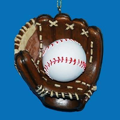 Baseball and Mitt Ornament