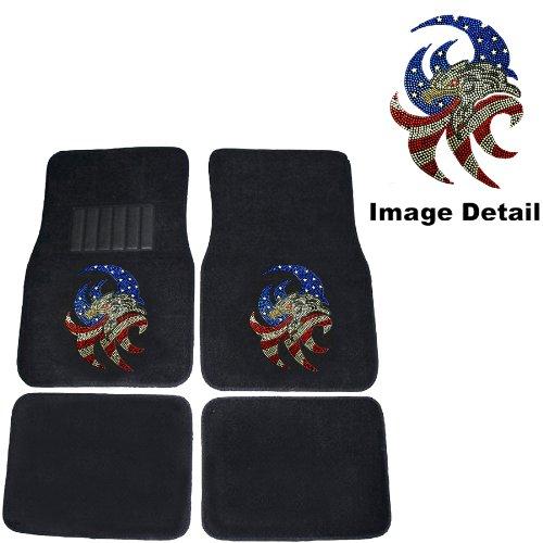 American Patriotic Crystal Studded Rhinestone product image