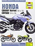 Honda CB600F/FS Hornet and CBF600 Service and Repair Manual: 1998 to 2006 (Haynes Service and Repair Manuals) by Phil Mather (12-Jun-2007) Hardcover