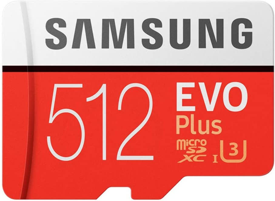 Samsung 256GB MicroSD EVO Plus Series 100MB/s (U3) Micro SDXC Memory Card with Adapter MB-MC256GA (5 Pack)