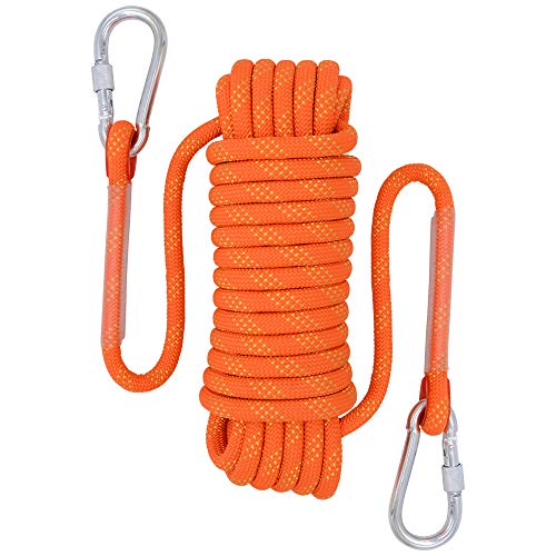 Durable 500LB Woven Rope Climbing Traction Rope Firm Cord Fishing Gun Rope Hot C