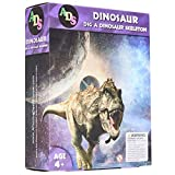 ADS Ultimate Dinosaur Science Kit–Dig Up Dino Fossils and Assemble it! - Includes 6 Piece Excavation Kits (Ramdon)