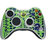 xbox 360 controller cover nfl - Skinit NFL Seattle Seahawks Xbox 360 Wireless Controller Skin - Seattle Seahawks - Blast Green Design - Ultra Thin, Lightweight Vinyl Decal Protection