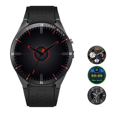 Teepao [Versión actualizada KW88 3G Smart Watch WiFi ...