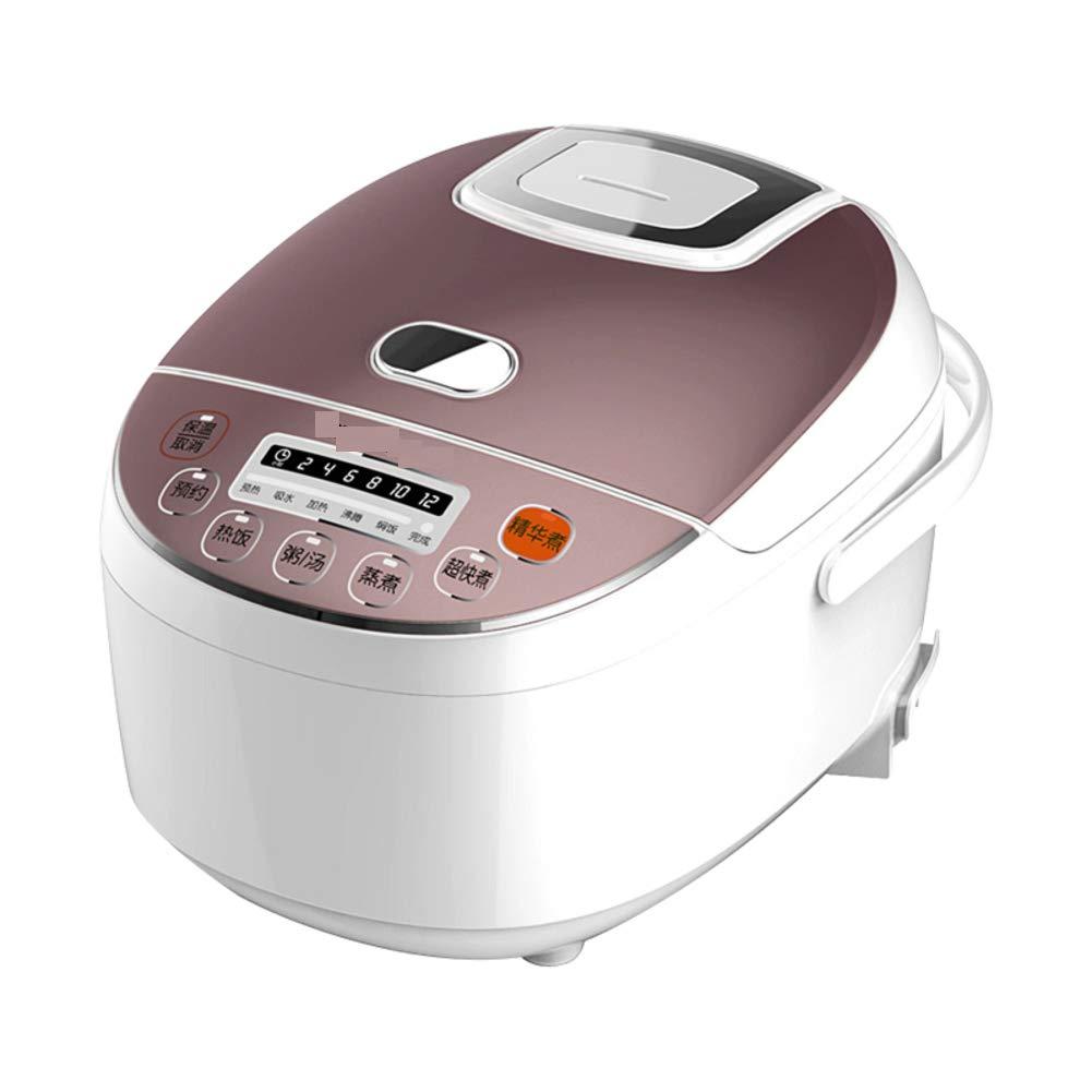 ミニ学生炊飯器,ホーム スマート 3 l 炊飯器予定マルチ使用プログラマブル圧力鍋電気圧力炊飯器-ホワイト  ホワイト B07HDPNTTQ