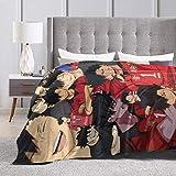 Fleece Blanket Throw Tetsuro Kuroo Haikyuu