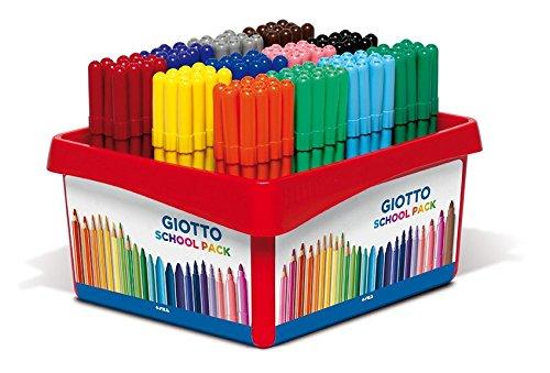 22 opinioni per Giotto Turbo Color Schoolpack 144 Pz