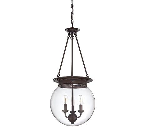 Amazon.com: Savoy House Landon 7 – 330 – Lámpara de techo ...