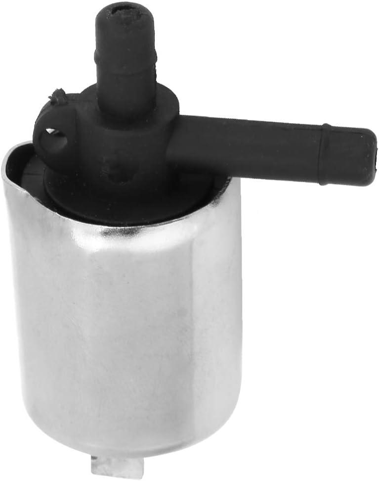Yosoo 6mm DC 12V pequeño plástico válvula de solenoide para gas Agua y Aire, N/C, normalmente cerrado