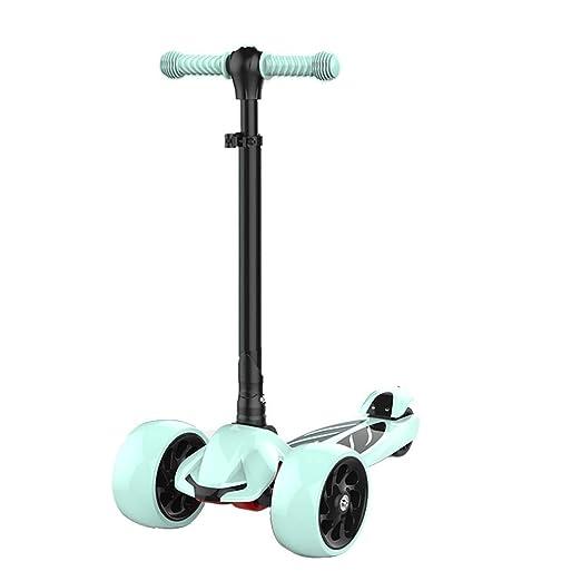 CQILONG-Scooter Patinete Plegable Manillar Ajustable Sistema ...