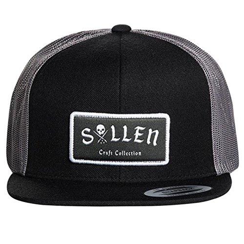 Sullen Clothing - Gorra de Béisbol - para Hombre Negro Negro Talla única
