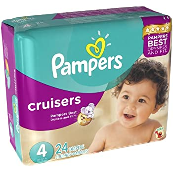Amazon Com Pampers Cruisers Diapers Size 4 Economy Pack