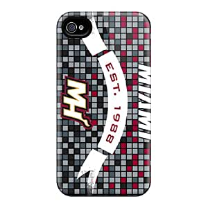 Bumper Cell-phone Hard Covers For Iphone 6plus With Custom High-definition Miami Heat Image ErleneRobinson